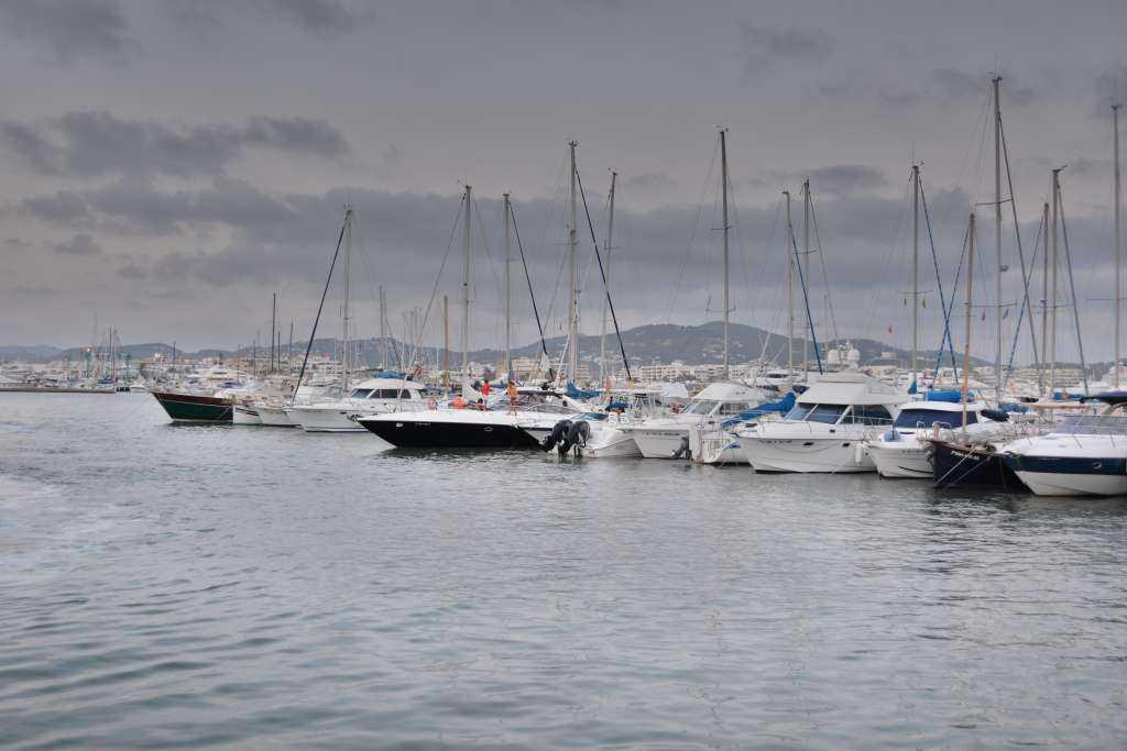 Marinadaki tekneler...