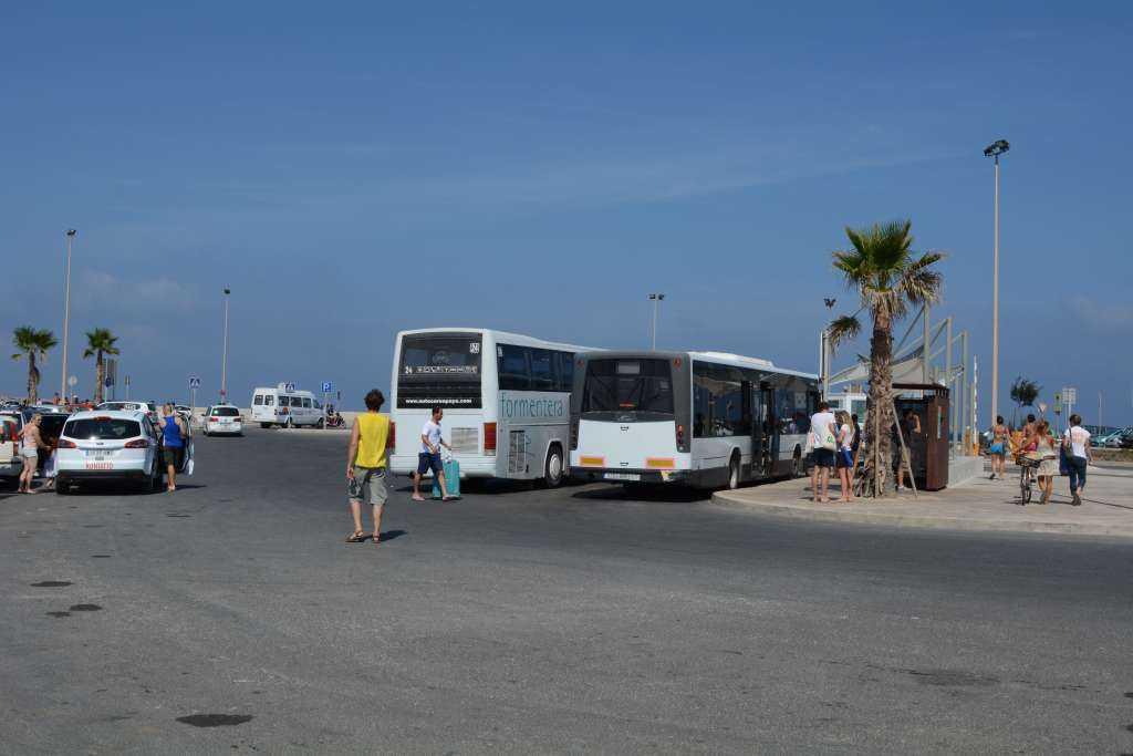 Formentera Adası Limanı