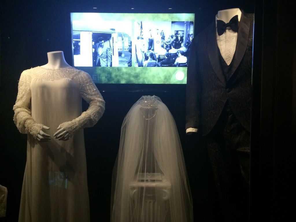 Graceland - Presley çiftinin düğün kıyafetleri