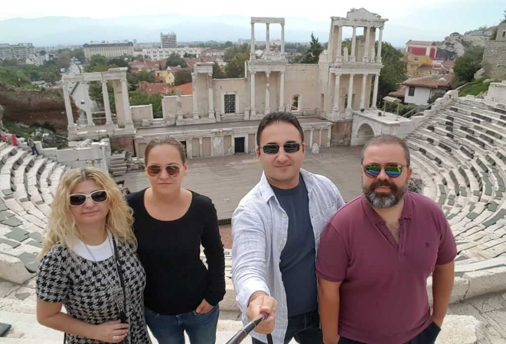 Ancient Roman Theatre hatırası...