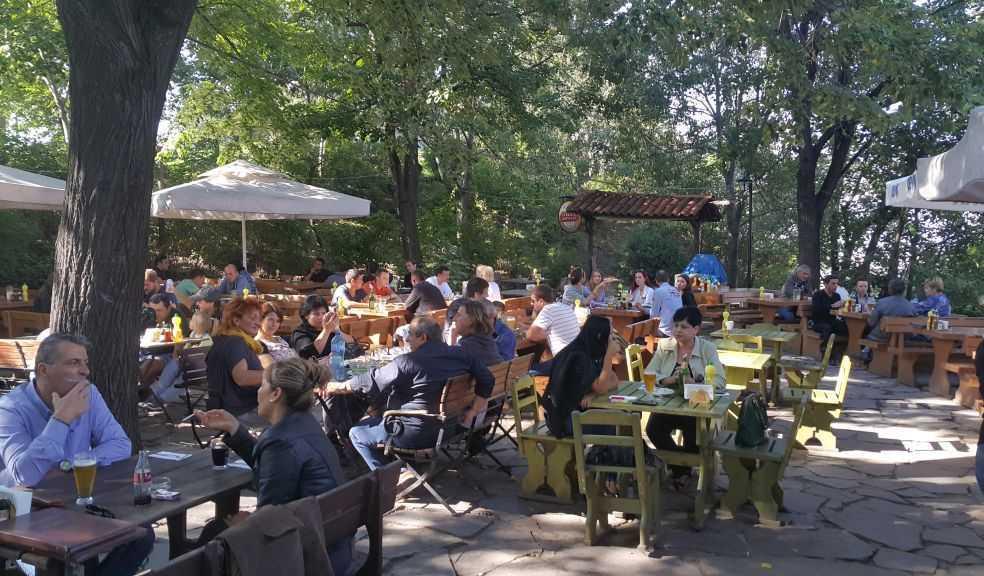 Plovdiv Nebet/Nöbet Tepe'deki restoran