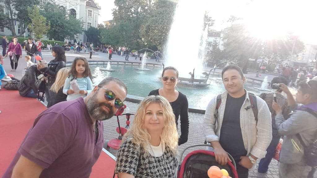 Stefan Stambolov Meydanı Hatırası :)
