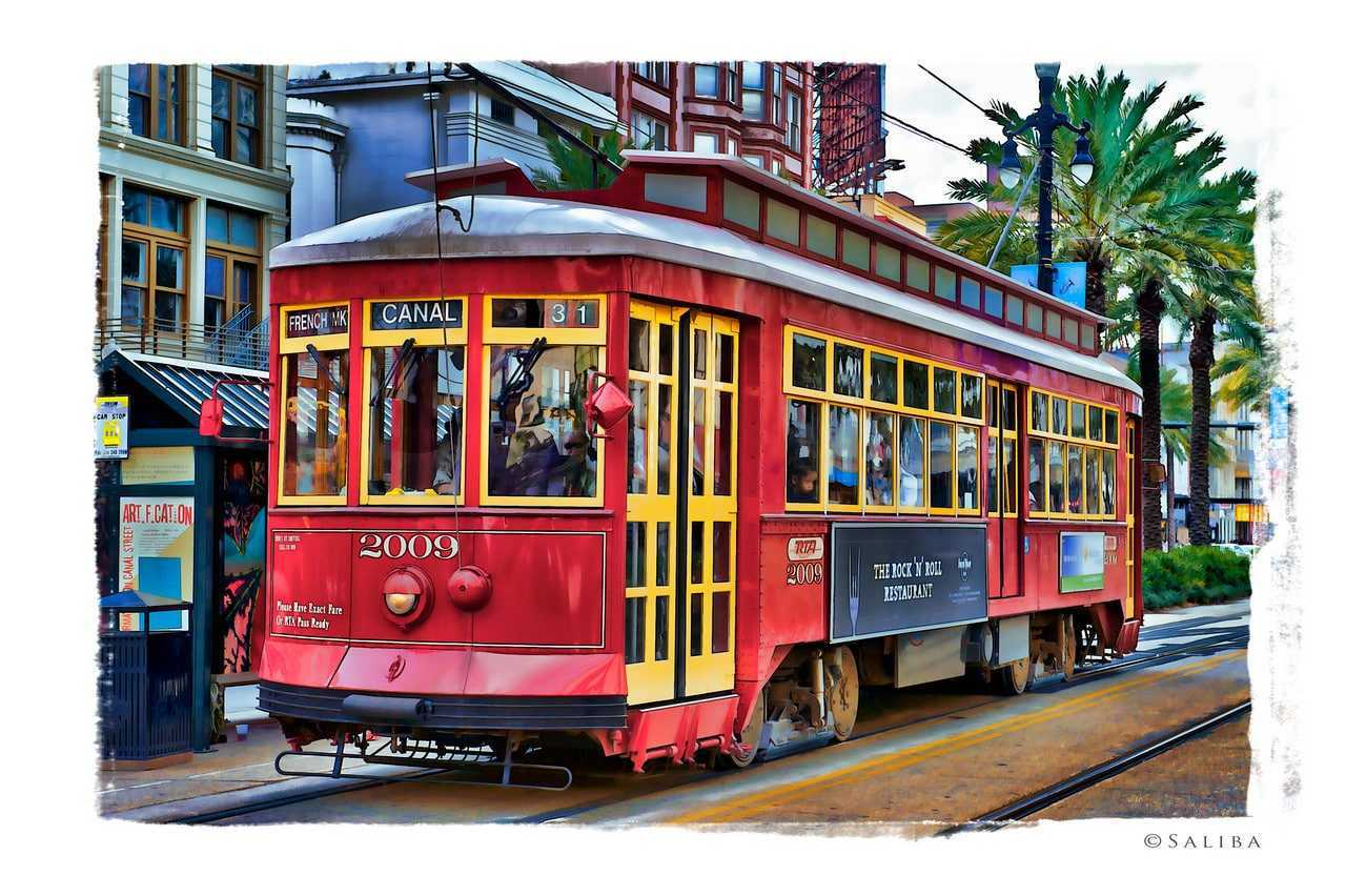 New Orleans Tram.