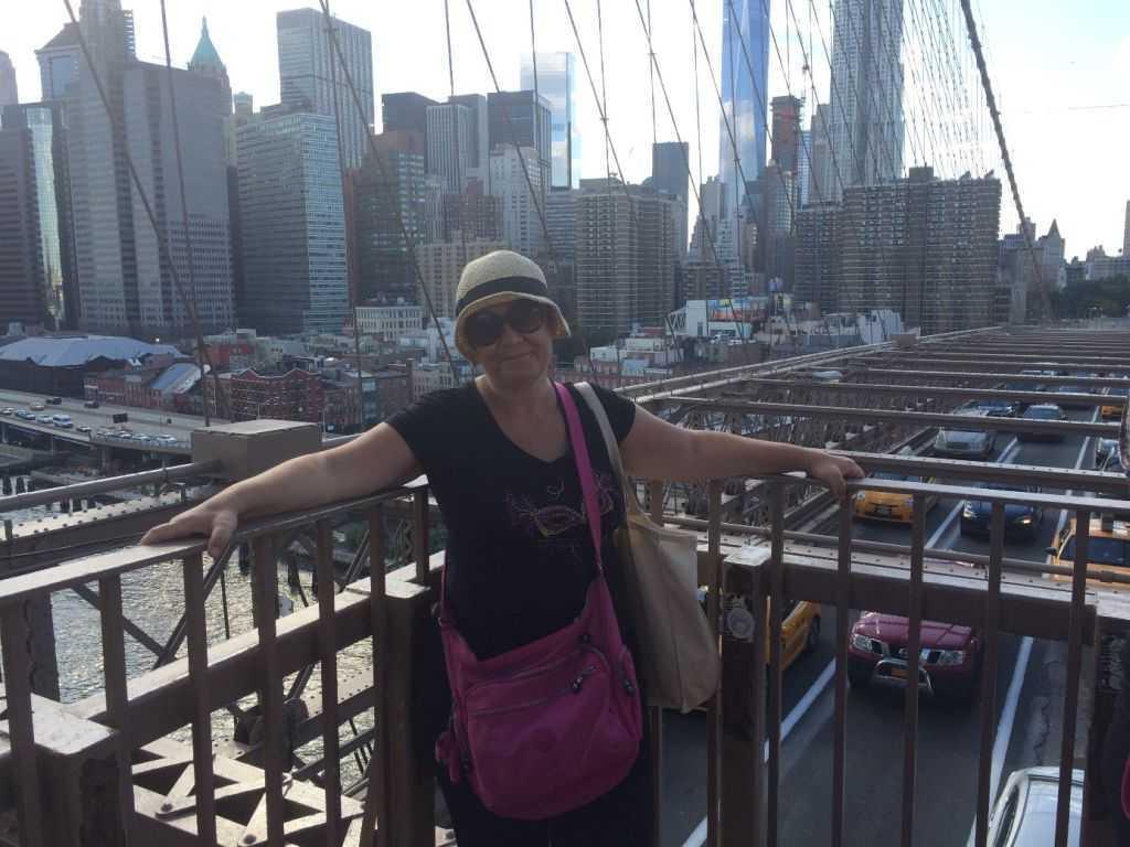 Brooklyn Köprüsünde ben