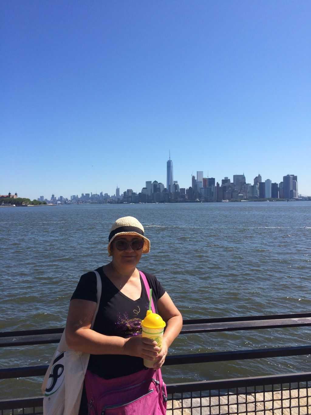 Adadan New York manzarası.