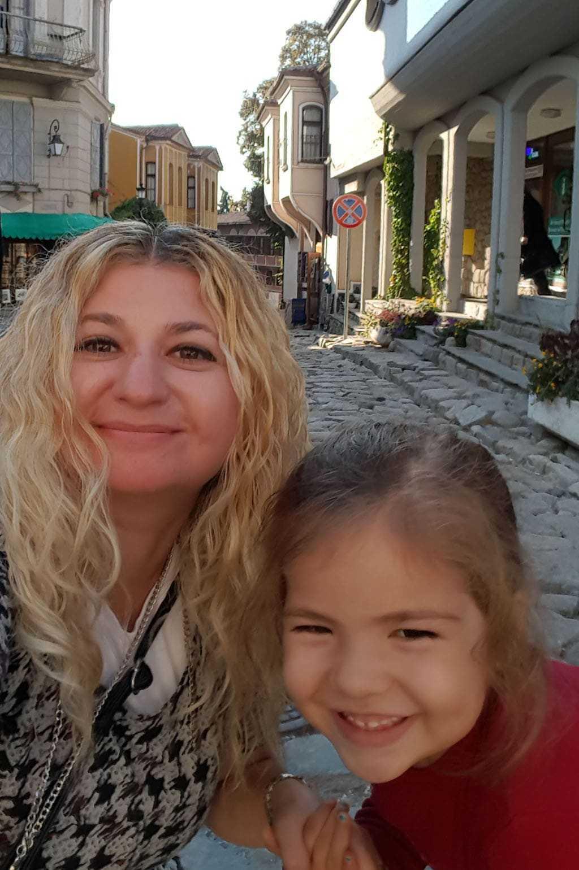 Melis ve ben Plovdiv hatırası :)