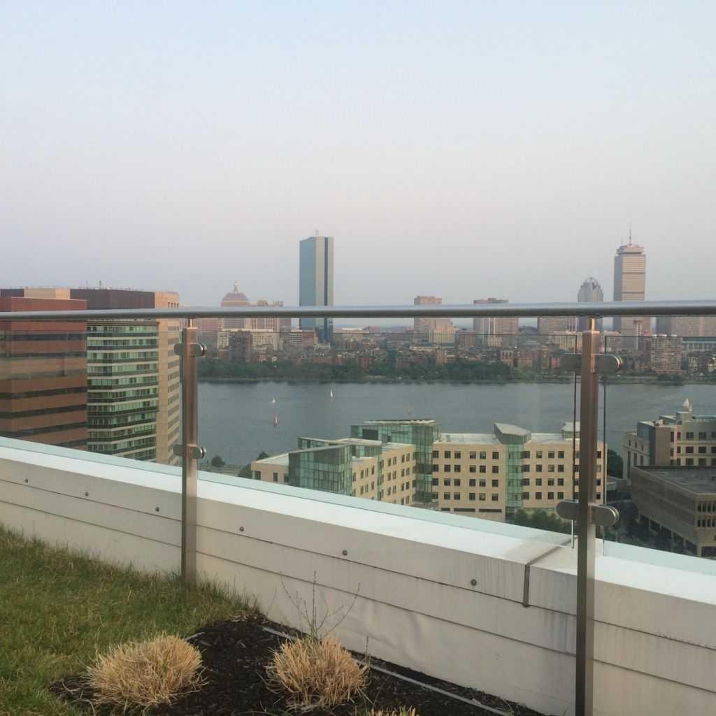 Boston manzarası