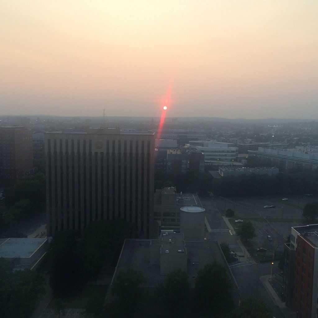 Boston'da gün batımı
