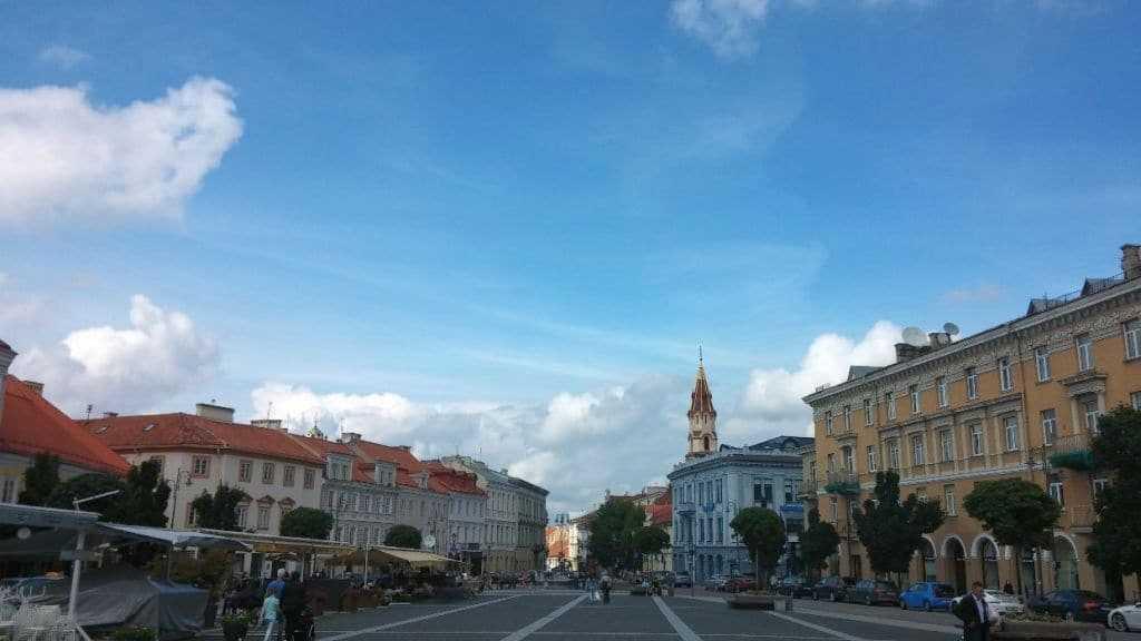Town Hall Square Vilnius, Litvanya
