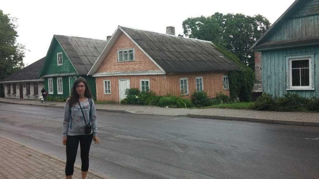 Karay Türkleri'nin evleri Trakai