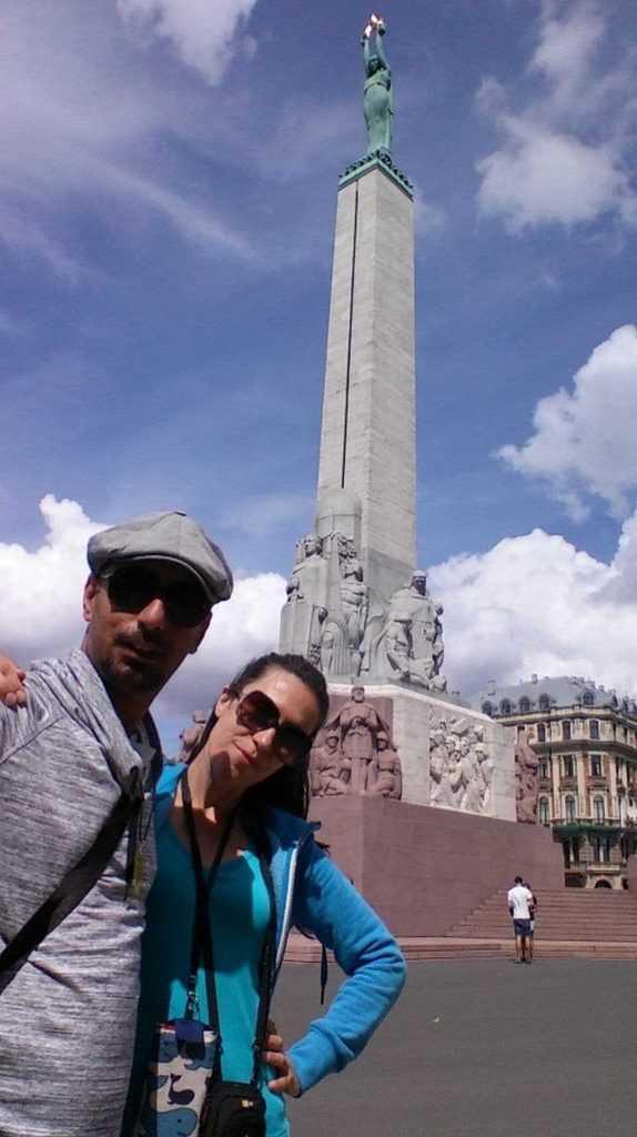 Özgürlük Anıtı Riga