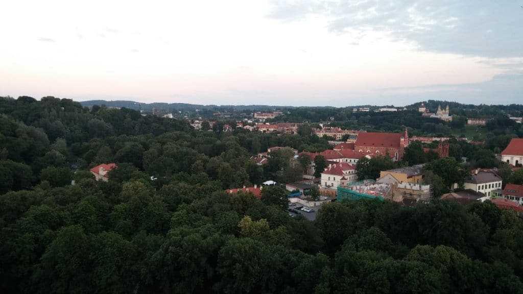 Bernardine Bahçesi, Vilnius, Litvanya