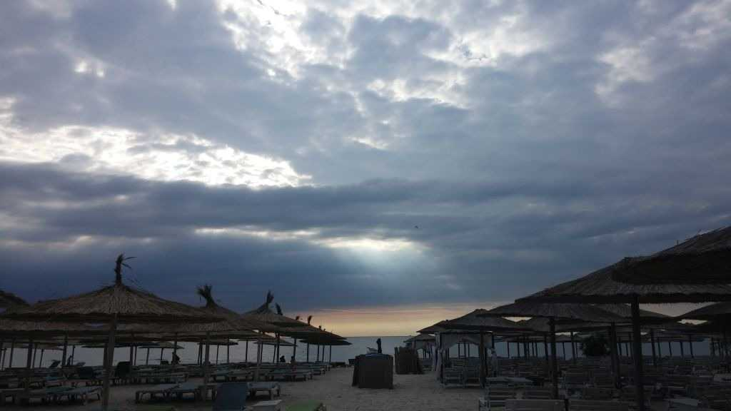 Mamaia Plajı, Köstence, Romanya