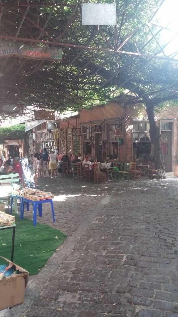 Agiasos Köyü, MidilliAdası