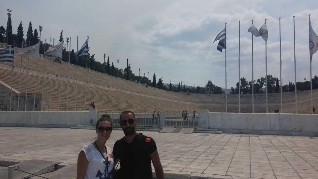 Panathinaiko Stadyumu, Atina,Yunanistan