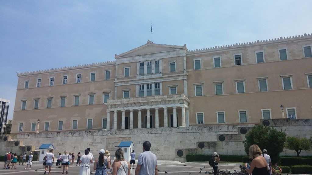 Parlemento Binası, Atina, Yunanistan