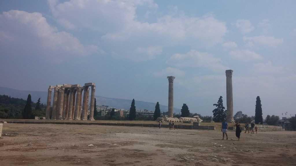 Zeus Tapınağı, Atina, Yunanistan
