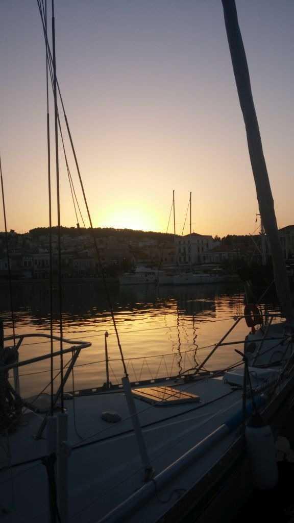 Günbatımı, Mytilene, Midilli Adası