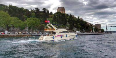 İstanbul'da yat gezisi keyfi
