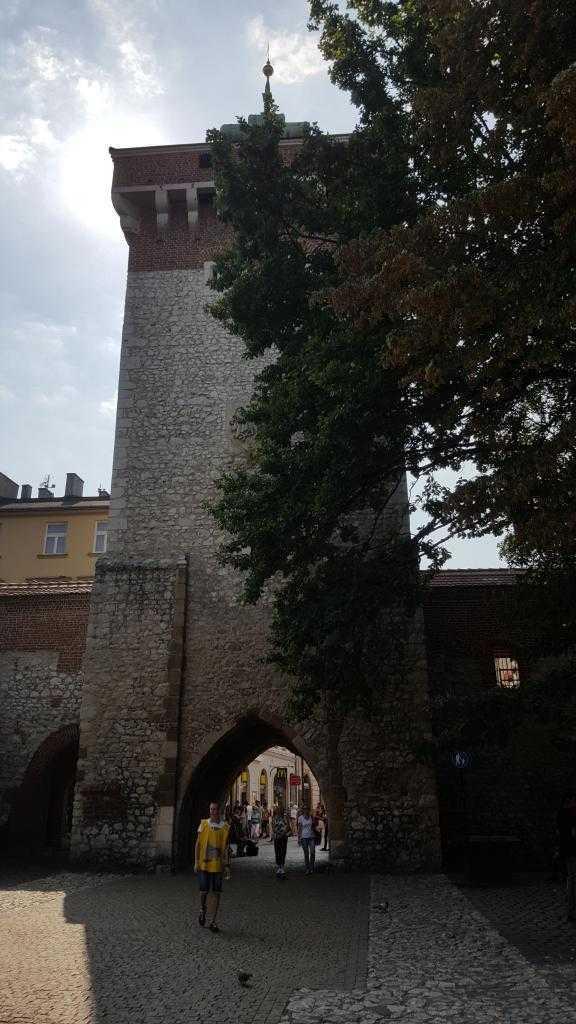 Eski şehir bölgesine geçiş yapılan kapı