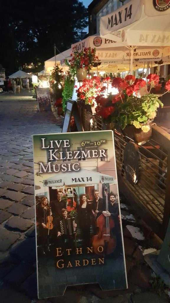 Kazimierz bölgesi - Szeroka Caddesi