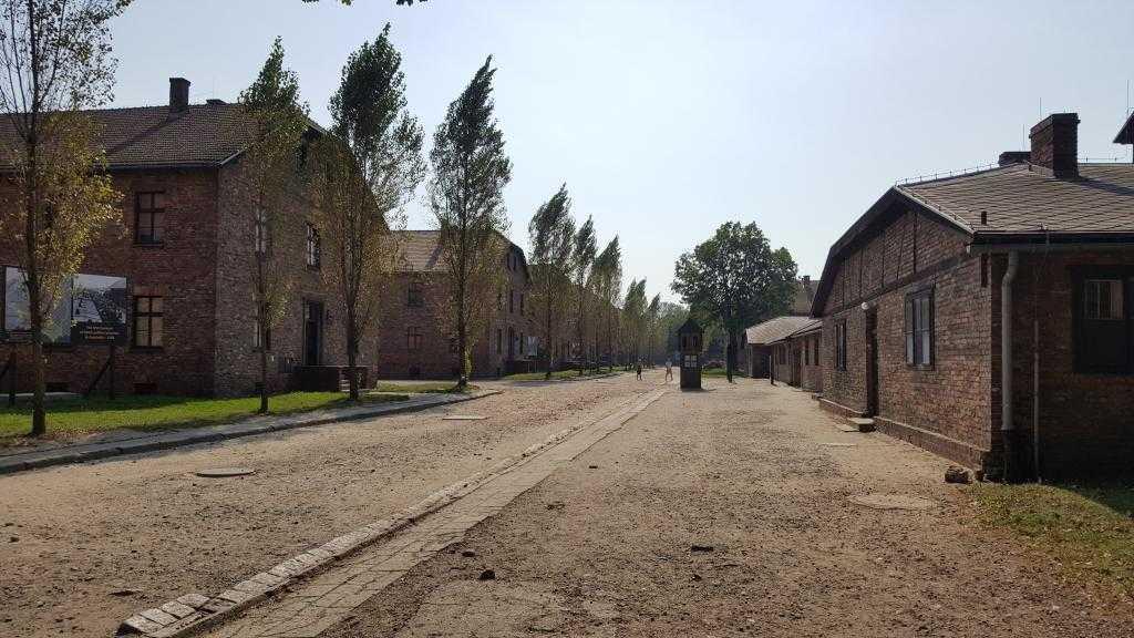Kamp içindeki barakalar