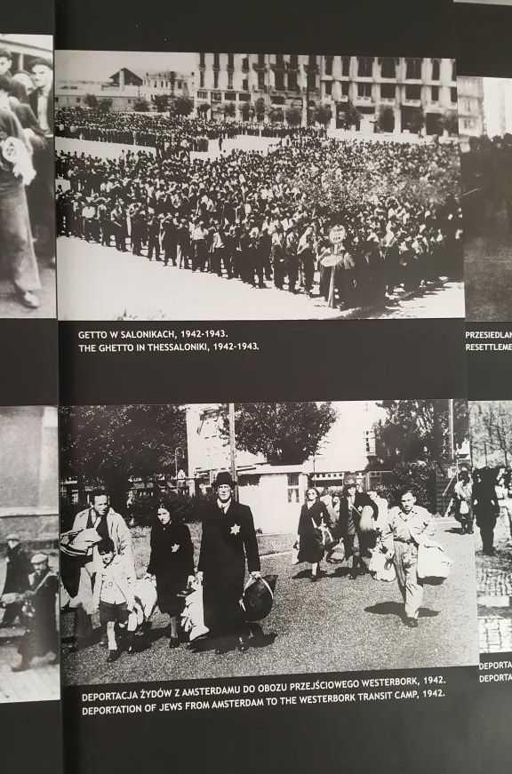 Selanik ve Amsterdam'dan getirilen Yahudi halk