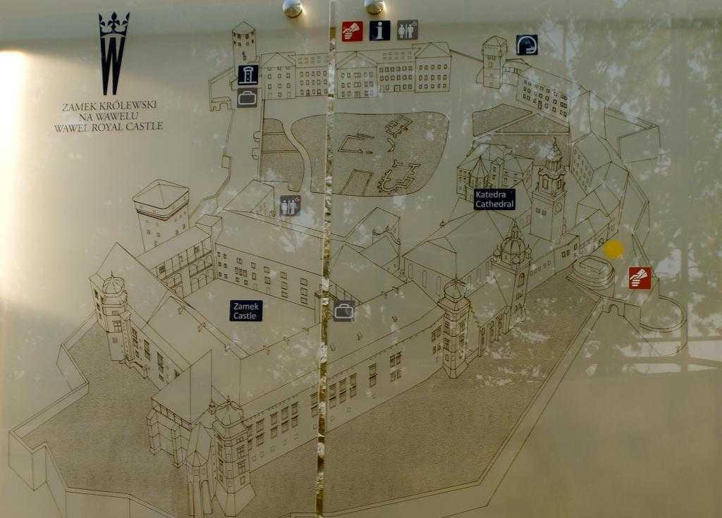 Wawel Castle Kroki