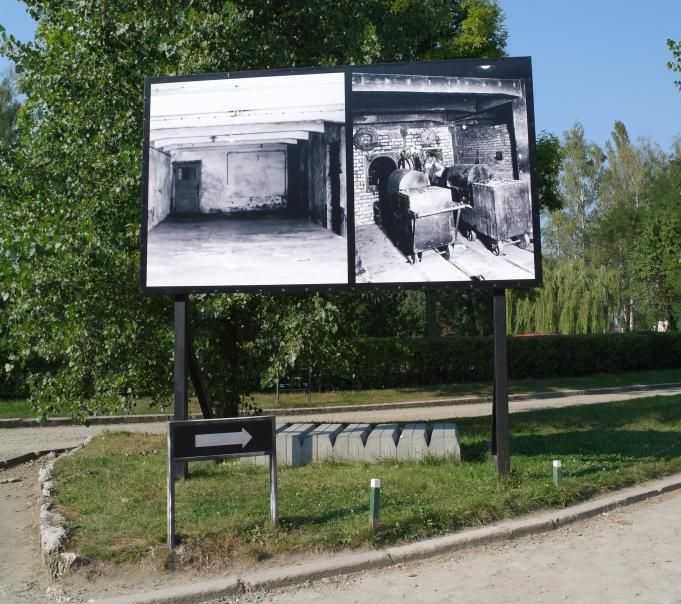 Krematoryum girişi