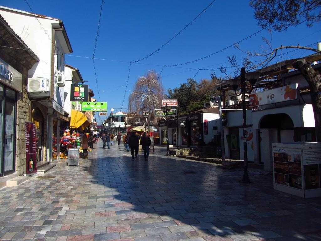 Kliment Caddesi, Ohrid, Makedonya