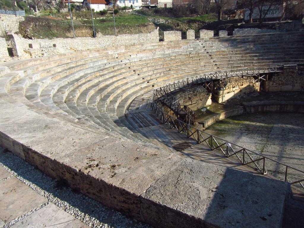 Antik Tiyatro, Ohrid Makedonya
