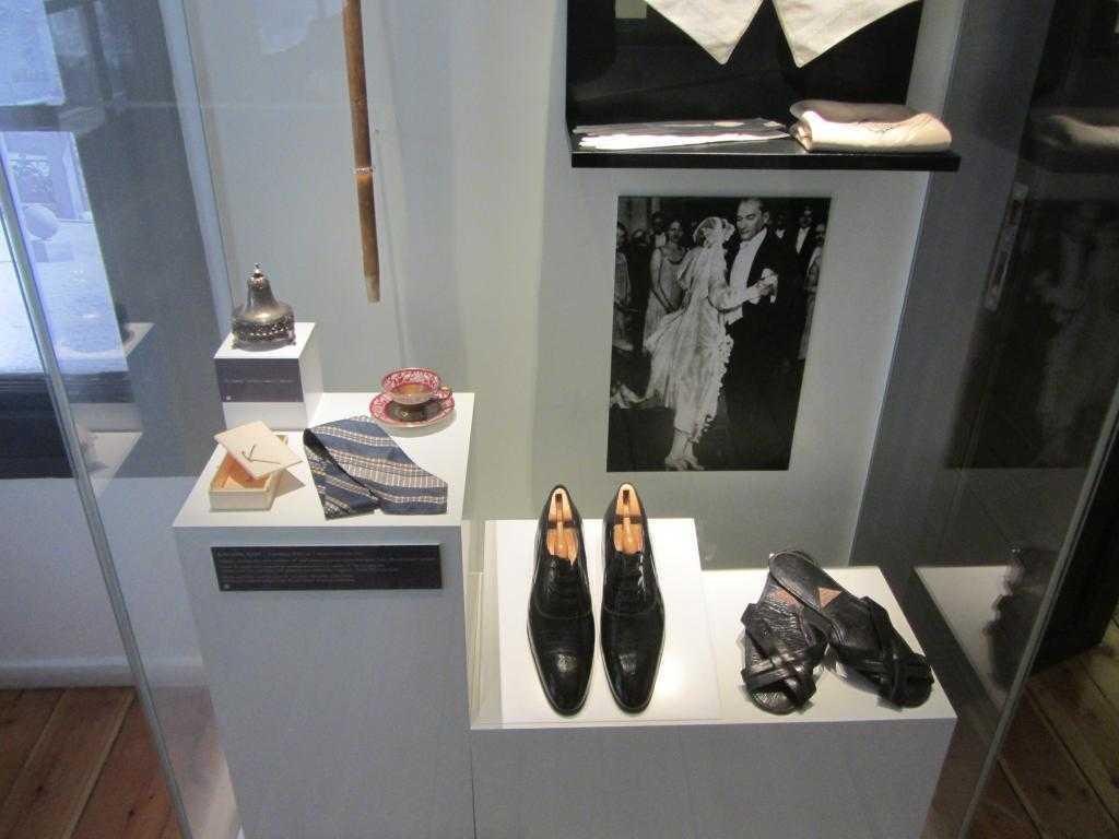 Atatürk Evi Müzesi. Atatürk'ün kişisel eşyaları
