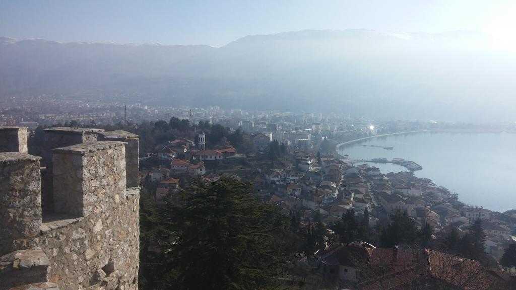 Kaleden Ohrid manzarası, Ohrid, Makedonya