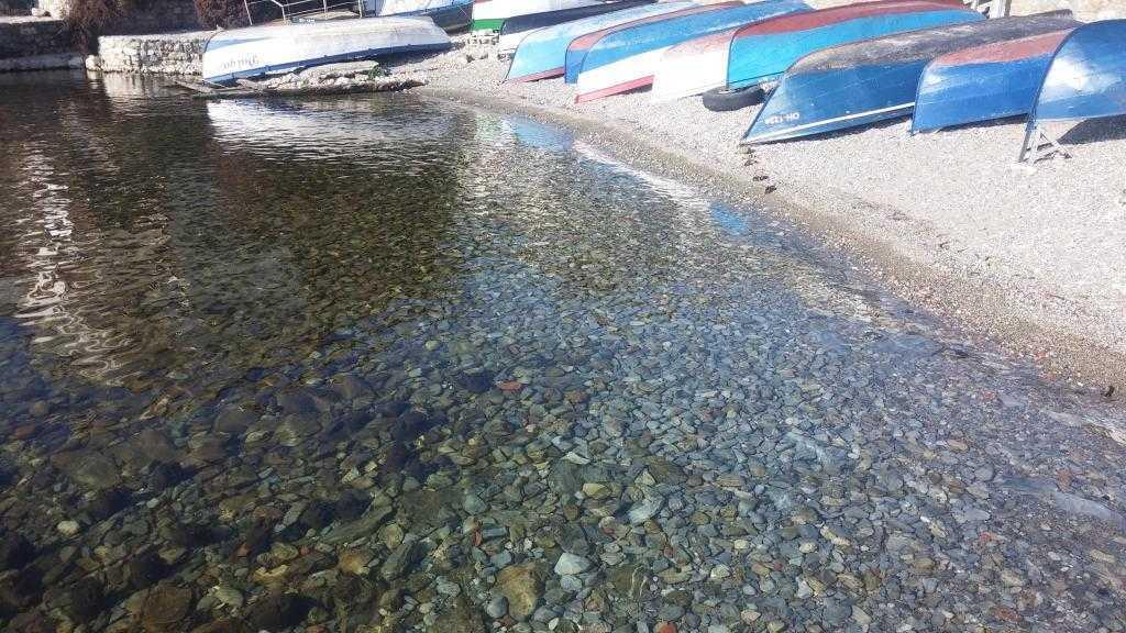 Yazı bekleyen sandallar … Ohrid, Makedonya