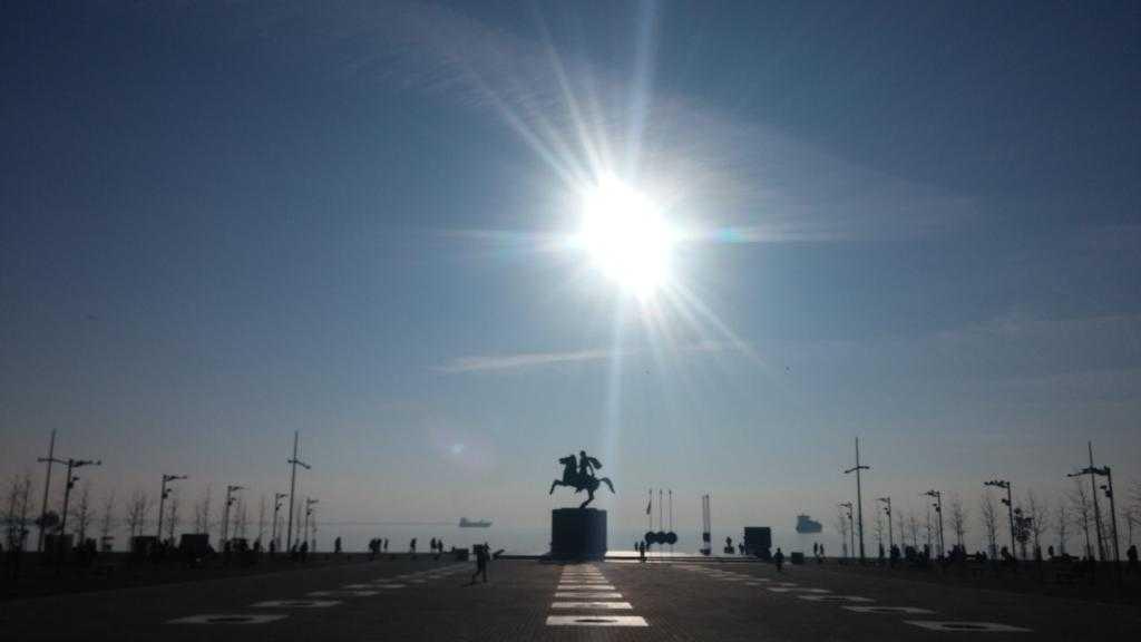 Büyük İskender Heykeli, Selanik