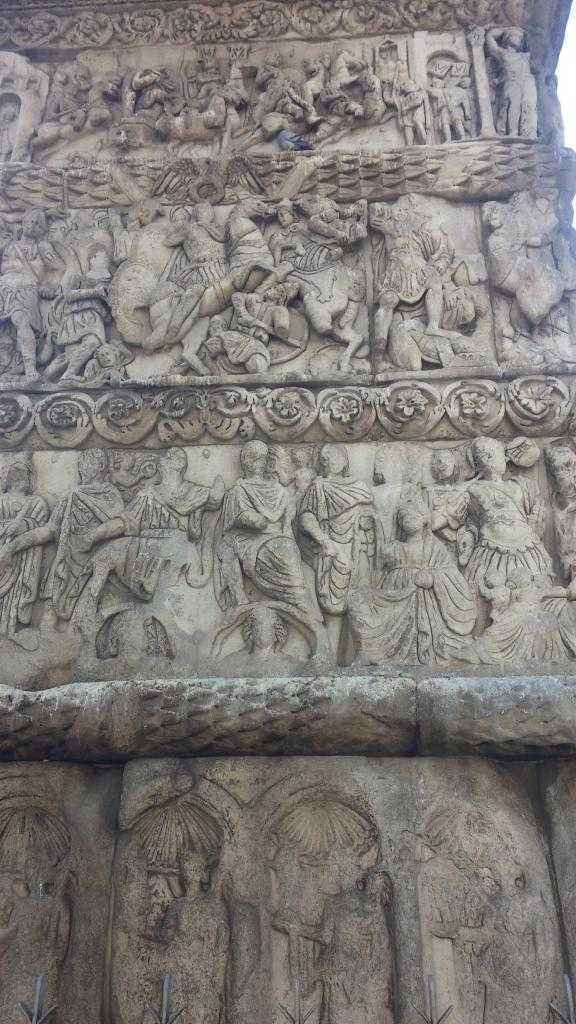 Galerious Kemeri üzerindeki detaylar, Selanik