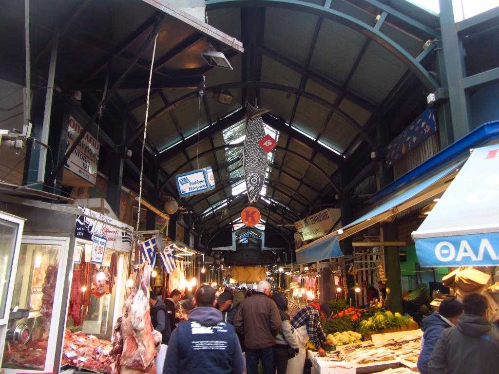 Balık ve et pazarı, Selanik