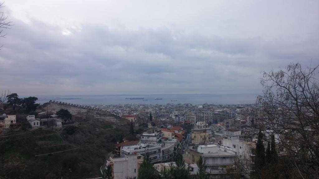 Moni Vlatadon Manastırı'ndan Selanik manzarası
