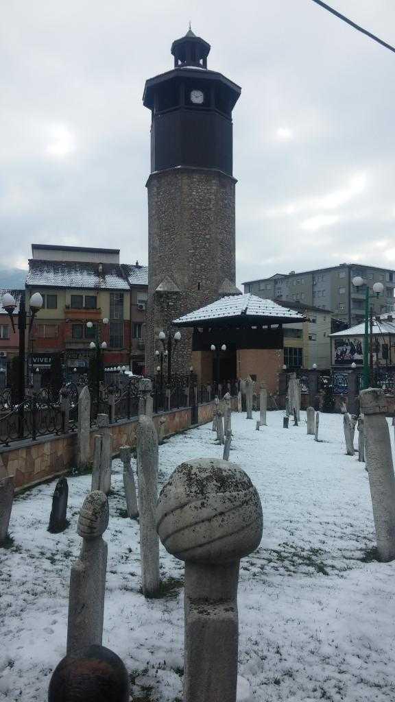 Saat Kulesi, 1556, Gostivar, Makedonya