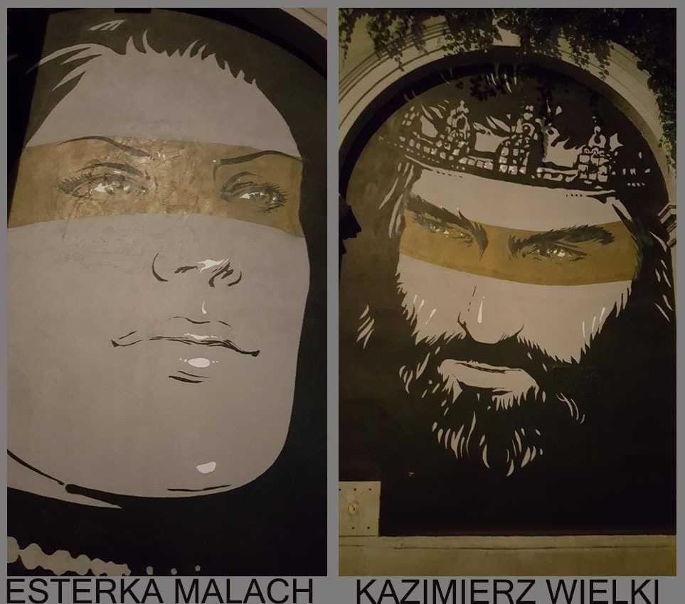King Kazimierz the Great ile sevgilisiEsterka Malach
