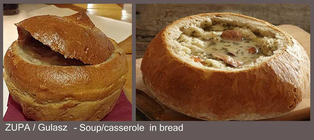 Ekmek içi çorba veya gülaş