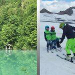 Çocuklarla Avusturya: Yaz ortasında kayak tatili ve çevre gezisi