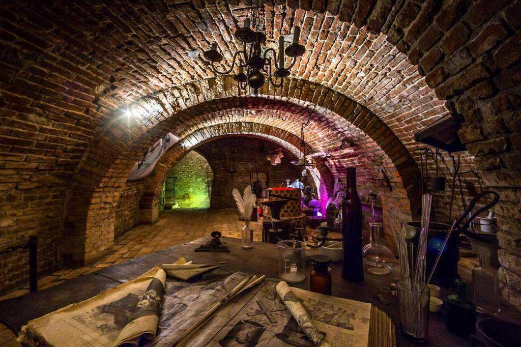 Brno yeraltı labirentleri